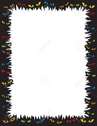 Halloween Border Templates by Scary Halloween Borders U2013 Festival Collections