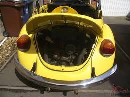 yellow volkswagen convertible volkswagen beetle 1303s karmann convertible 1975 yellow