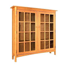 Bookcase With Glass Door Glass Bookcase Doors Mission Oak Glass Door Bookcase Sold Billy