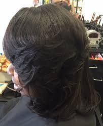 sew in hair gallery feathered bob sew in weave yelp