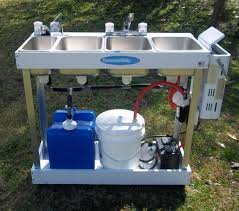 Best  Portable Sink Ideas On Pinterest Portable Toilet For - Three compartment kitchen sink