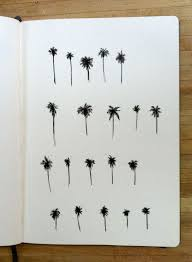 palm tree tattoos picmia