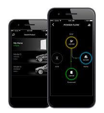 tesla updates mobile app with powerwall and solar energy
