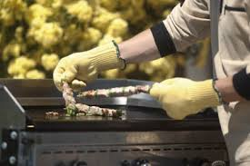 gant kevlar cuisine au bleu sarrau s a gants textile anti coupure et anti chaleur