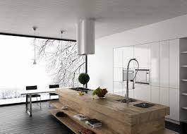 le pour cuisine moderne 99 idées de cuisine moderne où le bois est à la mode kitchens