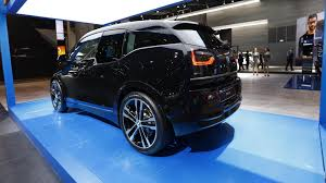 bmw i3s is a sporty city car that u0027s electrifying frankfurt