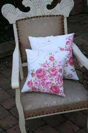 cottage chic ruffled pillows available in 3 colors white green