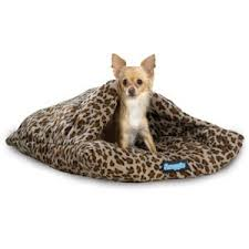 dog nesting bed amazon com snuggie nesting nook dog bed leopard small pet
