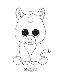 sweet beanie boo coloring pages beanie boo coloring pages free