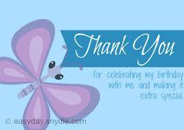 birthday thank you notes card invitation design ideas thank you notes for birthday blue