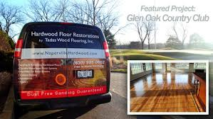 glen ellyn golf course hardwood floor project