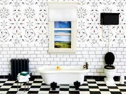 Modern Wallpaper For Bathrooms Bathroom Astonishing Bathroom Wallpaper Ideas Bathroom