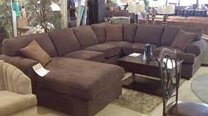 Brown Leather Sectional Sofa With Chaise Overstuffed Sectional Sofa With Chaise Catosfera Net