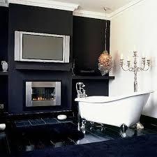 Bathroom With Black Walls To Da Loos January 2012