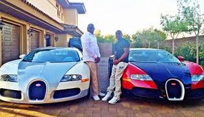 bugatti chris brown in pictures boxer floyd mayweather shows off his wealth on