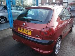 peugeot 206 1 4 urban 3dr manual for sale in st helens l u0026 s motors
