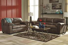 Microfiber Living Room Sets Casual Faux Leather Sofa By Signature Design By Ashley Wolf And