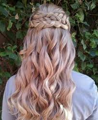 prom hair down with braid formal hairstyles for long hair down