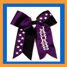 personalized bows cheerleading hair bows