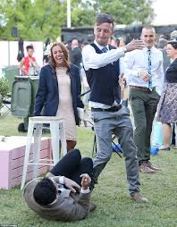 photos of the day a melbourne cup 2016 photos of day which saw 9 arrested 78 kicked