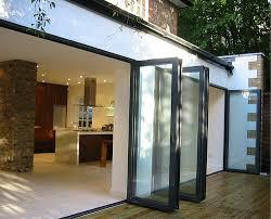 Bi Folding Glass Doors Exterior Catchy Glass Bifold Doors With Folding Glass Doors Usa Images Of