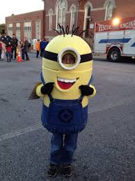 halloween costumes minion my wife and i made our son a minion costume for halloween 2013 pics
