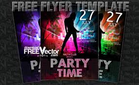 download free vector blog archive free flyer templates