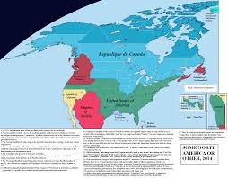 Spanish Map Of North America by Alternate History Weekly Update Map Monday Some North America Or