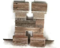 Reclaimed Wood Home Decor Rustic Home Decor Pallet Wood Letter Reclaimed Wood Letter