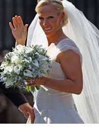 wedding flowers edinburgh wedding flowers zara phillips with flowers
