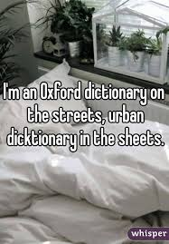Duvet Dictionary M An Oxford Dictionary On The Streets Urban Dicktionary In The
