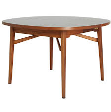 monaco dining table jens risom teak expandable dining table at 1stdibs