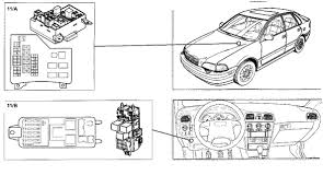 re volvo 2000 v40 owners manual shows 2 fuse boxes engine