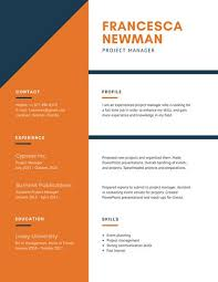 Resume For Spa Manager Professional Resume Templates Canva