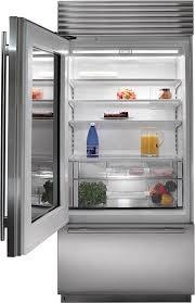 Glass Door Home Refrigerator by Subzero Bi 36ug S Ph 36
