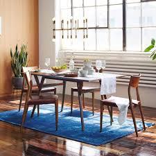 west elm expandable table mid century expandable dining table walnut west elm australia