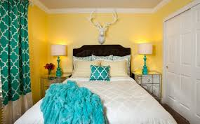 turquoise bedroom 15 gorgeous grey turquoise and yellow bedroom designs home design