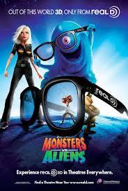 monsters aliens movie poster 20 26 imp awards
