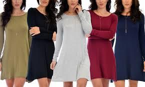 68 on lyss loo s tunic dress groupon goods