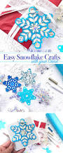 easy winter crafts with 3 in 1 snowflake svg cut file 100 directions