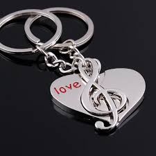 shaped key rings images Free shipping by dhl 200pairs lot 2015 new musical note heart jpg