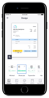 Illustration Invoice Template Professional Invoice App Invoice Templates Tools Invoice2go