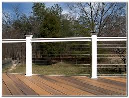 cable railing for deck decks home decorating ideas ympjldevqq