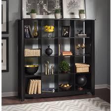 Bookcase Room Dividers by Bush Furniture Aero 16 Cube Bookcase Room Divider Walmart Com
