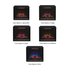 classicflame 23 in infrared fireplace insert u0026 flush mount