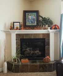 Mantel Decorating Tips Terrific Corner Fireplace Mantel Decorating Ideas Pics Design