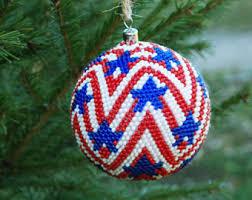 flag ornaments etsy