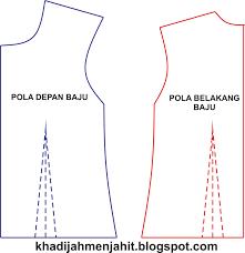 dasar membuat pola baju ebook download khadijah menjahit cara membuat pola dasar pakaian wanita
