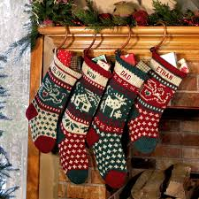 annie u0027s personalized christmas stockings knitted by annieswoolens