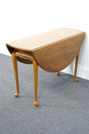ethan allen round table high end used furniture ethan allen circa 1776 44 round gateleg